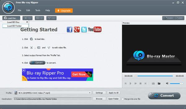 Скачайте и установите Blu-ray Ripper