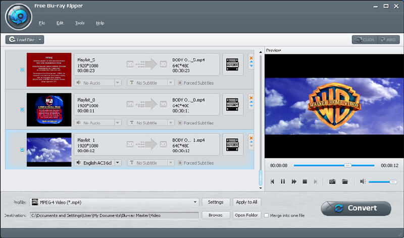 Free blu ray software