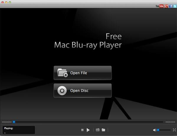 Free Mac Blu-ray Player full screenshot