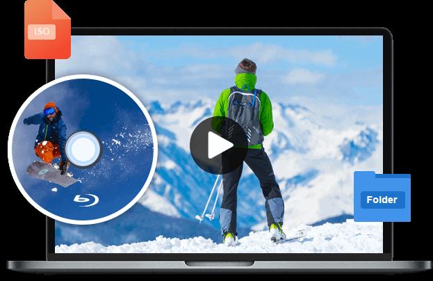 Воспроизвести файл IOS из папки для дисков Blu-ray