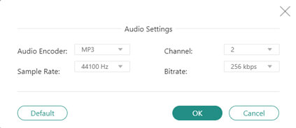 Ajuster les paramètres audio