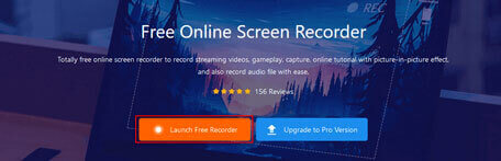 Launch Free Recorder