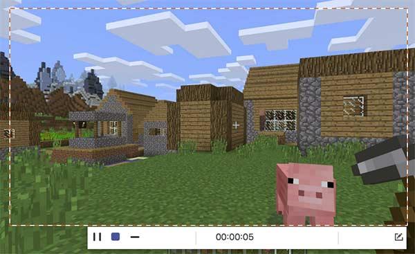 Enregistrer Minecraft