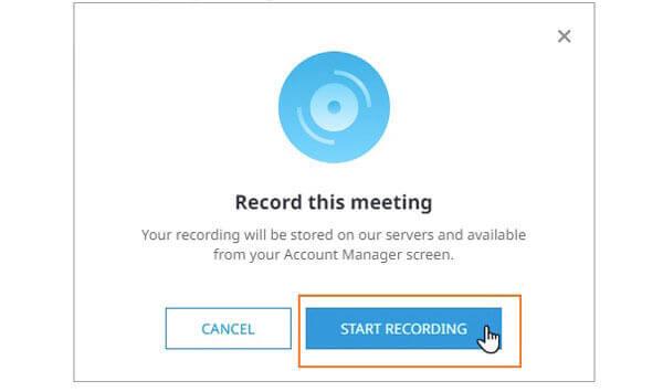 Enregistrer avec Anymeeting