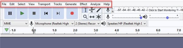 Audacity Record Computer Audio Windows