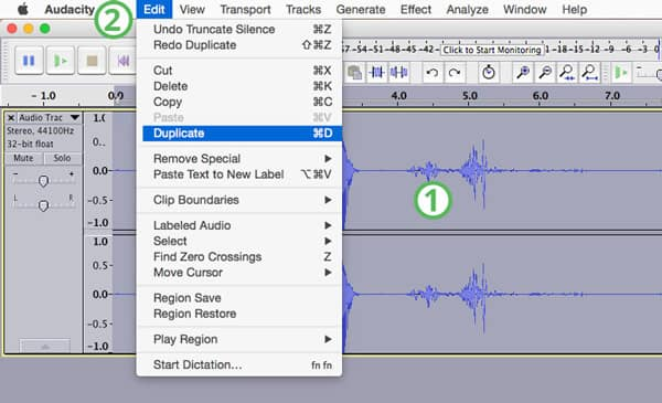 Edit Audacity Audio Recording