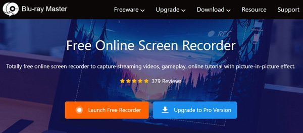 Streaming Video Recorder Free Online Screen Recorder