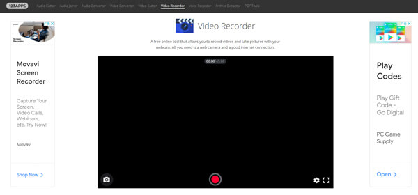 123Apps Video Recorder