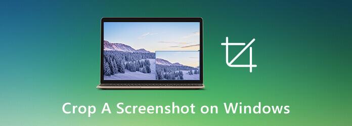 Recadrer une capture d'écran sous Windows