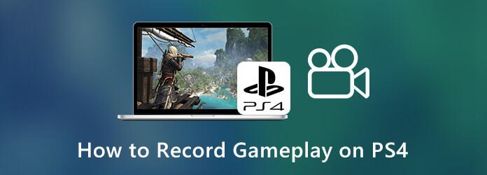 Как записать геймплей на PS4