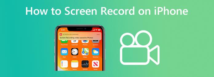 Как записать экран iPhone
