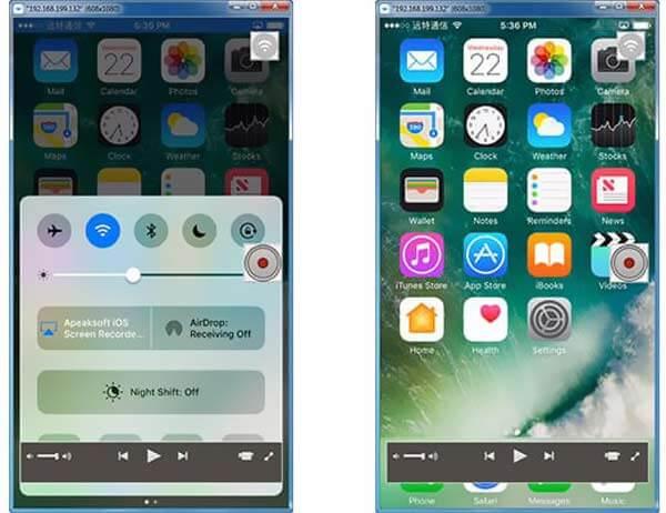 Запись экрана на iPhone 6