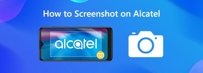 Как сделать скриншот на Alcatel