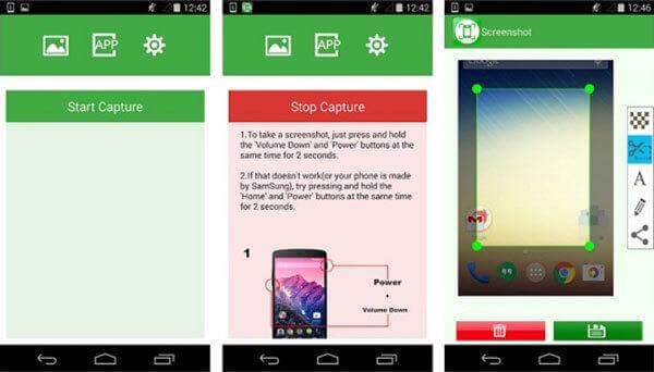 Скриншот на Alcatel