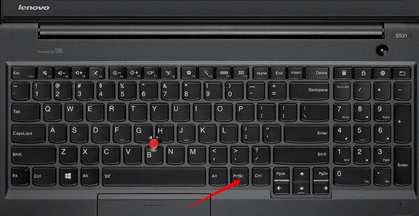 Lenovo Screenshot Key