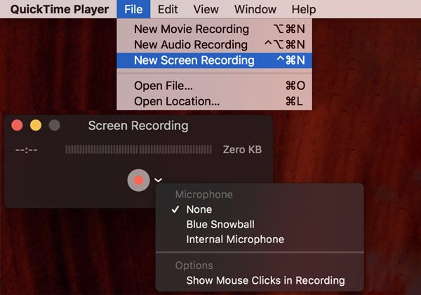 Quicktime Meeting Recorder App