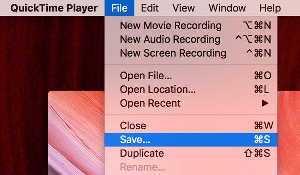 Enregistrer l'enregistrement