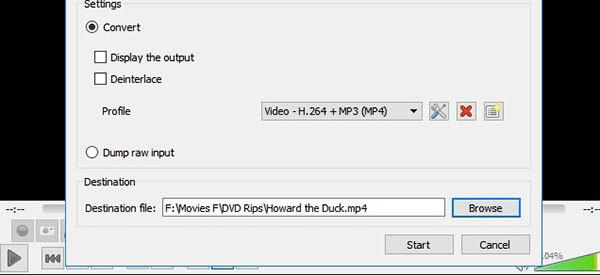 Enregistrer un DVD avec VLC