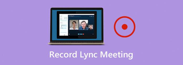 Enregistrer une réunion en ligne Lync