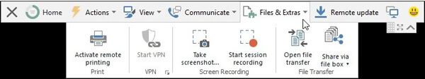 Teamviewer Record Session Feature