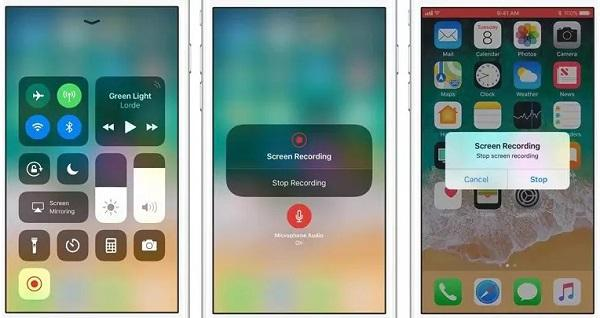 iOS Built-in Screen Recorder