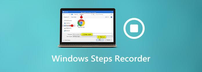 Enregistreur de pas Windows