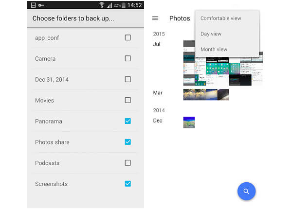 backup android photos to google photos