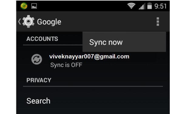 sauvegarde de photos Android via Google +