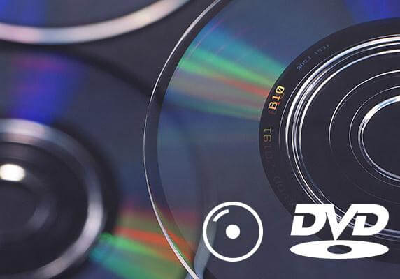 Выберите диск DVD