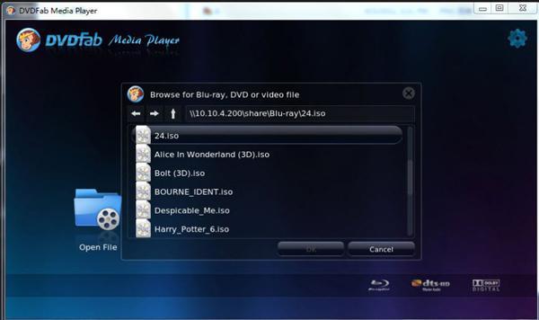 DVDFab lejátszó