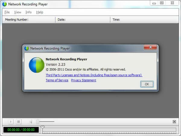Webx Network Recording Player