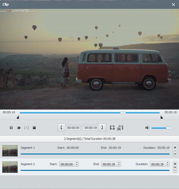 Clip vidéo Blu-ray