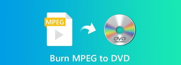 Graver MPEG sur DVD