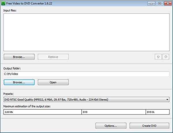 Convertisseur gratuit de vidéo en DVD