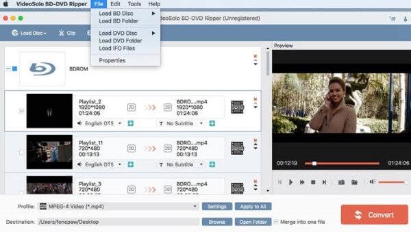 Videosolo DVD en MOV