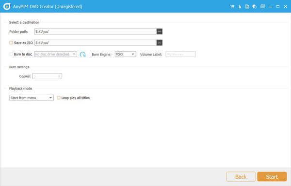 Créer ISO à partir d'un fichier VOB