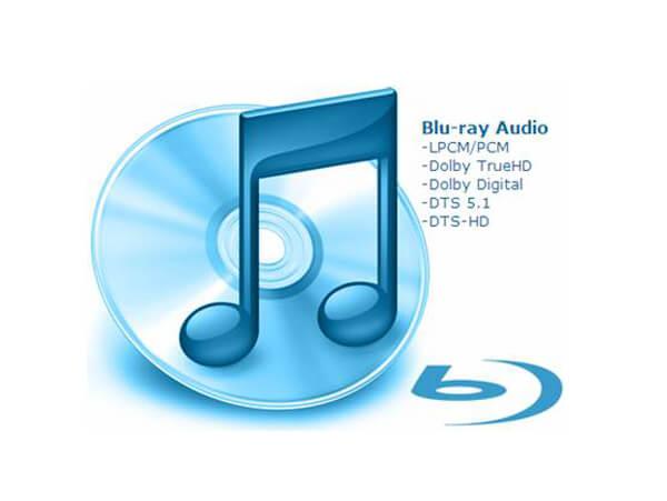 Аудио файлы Blu-ray