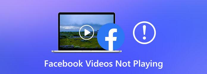 Видео в Facebook не воспроизводятся