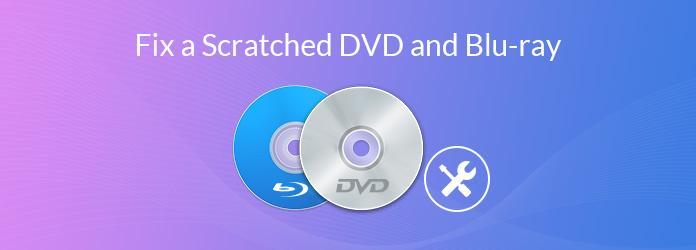 Réparer un DVD ou un Blu-ray rayé