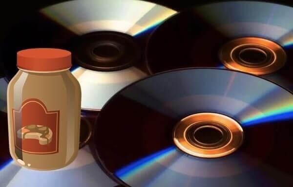 Correction d'un DVD rayé avec du beurre d'arachide