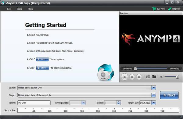 Lancer AnyMP4 DVD Copy