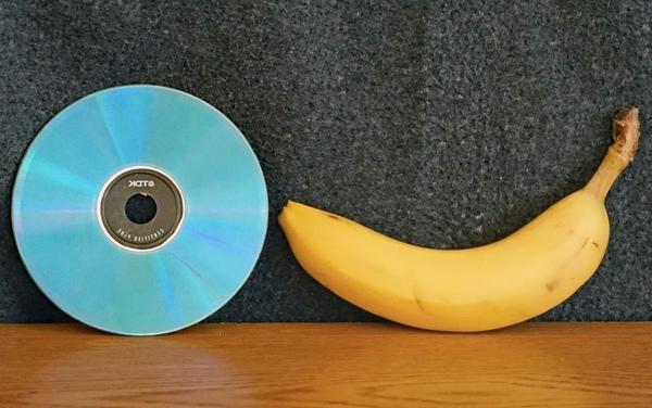 DVD polonais avec banane