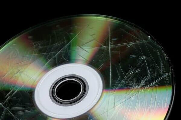 DVD rayé