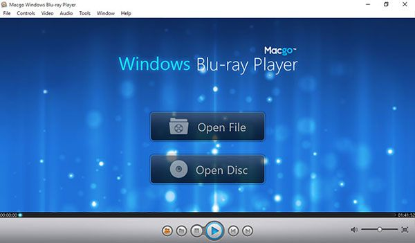 free blu ray player software windows vista