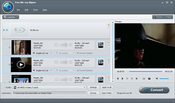 Charger Batman Blu-ray