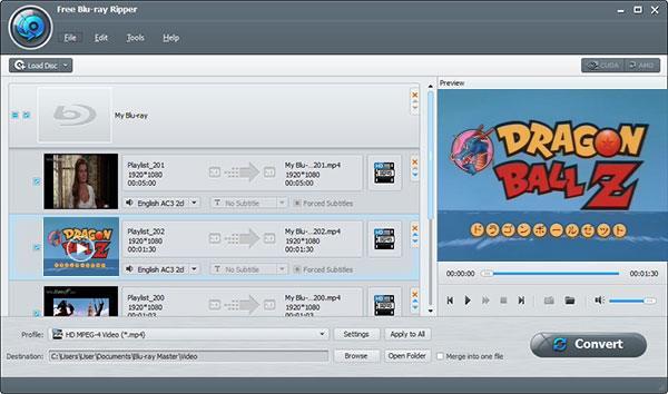 Загрузить Dragon Ball Blu-ray