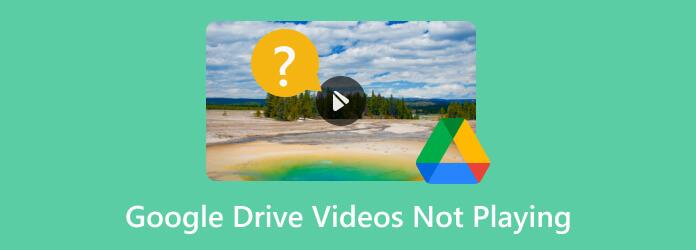 Les vidéos Google Drive ne sont pas lues