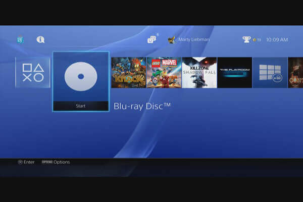 Blu-ray Disc on PS3