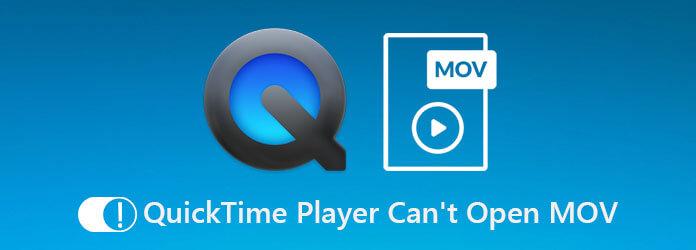 QuickTime Player ne peut pas ouvrir MOV