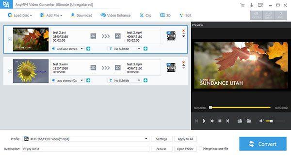 конвертировать видео в GIF